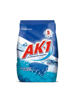 Detergente Ak1 con poder de la barra