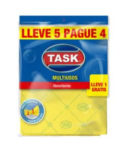 PAÑO MULTIUSOS TASK LLEVE 5 PAGUE 4