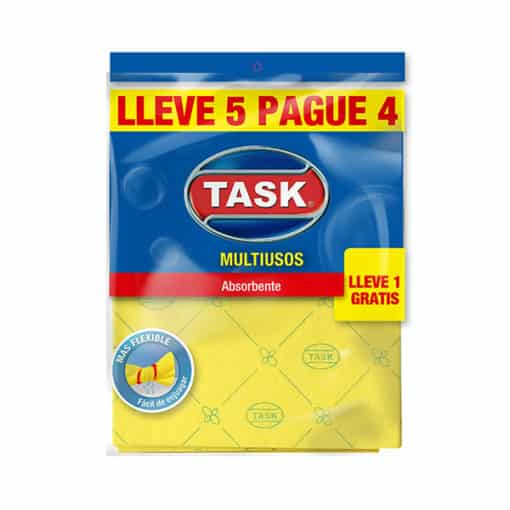 PAÑO MULTIUSOS TASK LLEVE 5 PAGUE 4