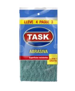 ESPONJA ABRASIVA TASK LLEVE 4 PAGUE 3