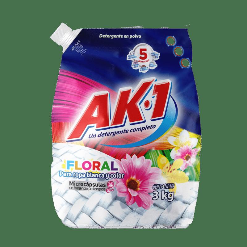Detergente Ak1 Floral 3Kg