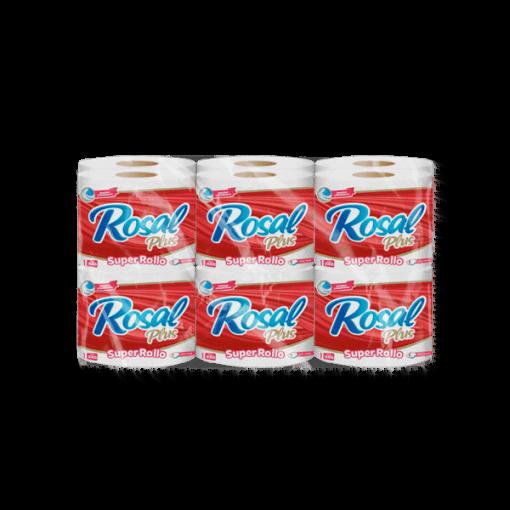 Papel higiénico Rosal x 12unds